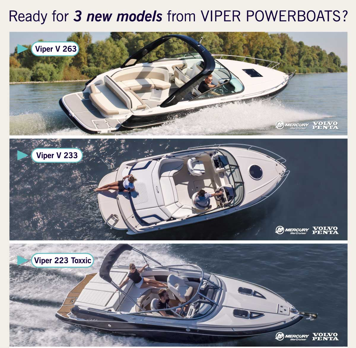 Europe Marine new Viper Powerboats 0620